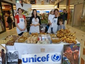 Baking for The Unicef